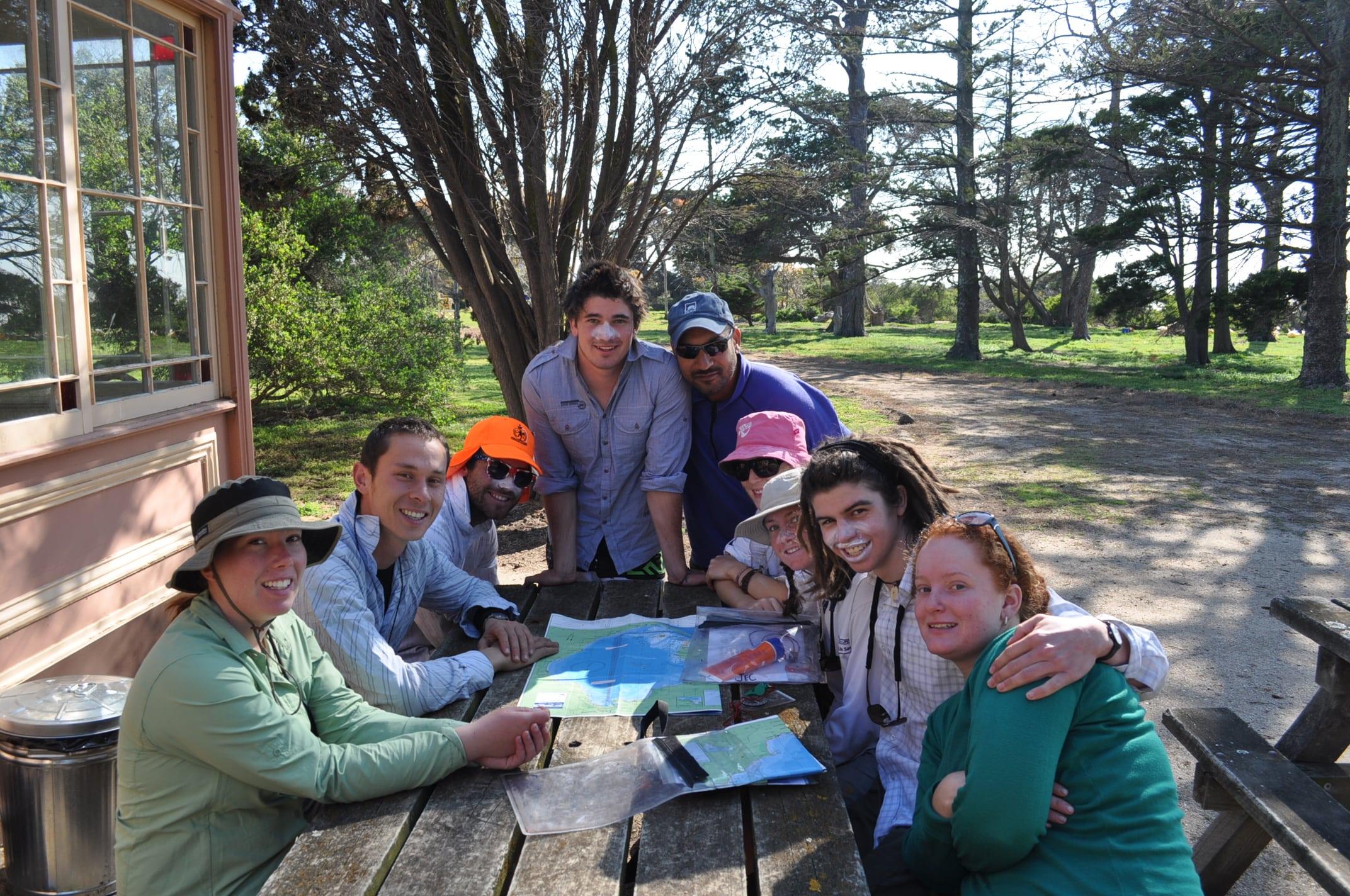 Leadership Retreat participants pose for a picture in Australia