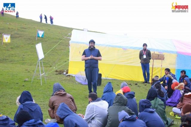 Zaigham Hidayatullah from Knowledge Platform speaking at Markhor 2019